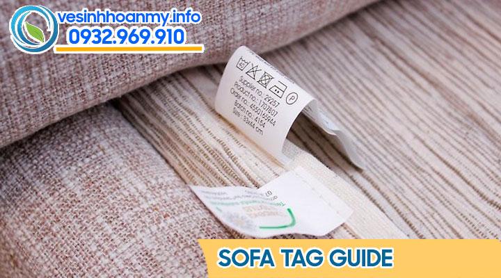 Tẩy bẩn ghế sofa - cần phải đọc hướng dẫn sử dụng từ nhà sản xuất