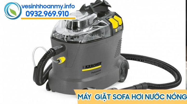 Dùng máy giặt hơi nước nóng để khử mùi hôi của ghế sofa