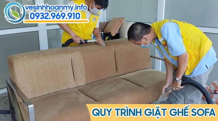 Vệ sinh ghế sofa vải