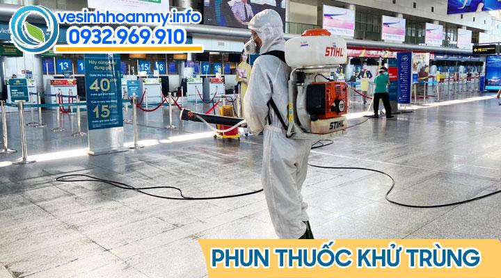 Phun thuốc khử trùng tại Đà Nẵng