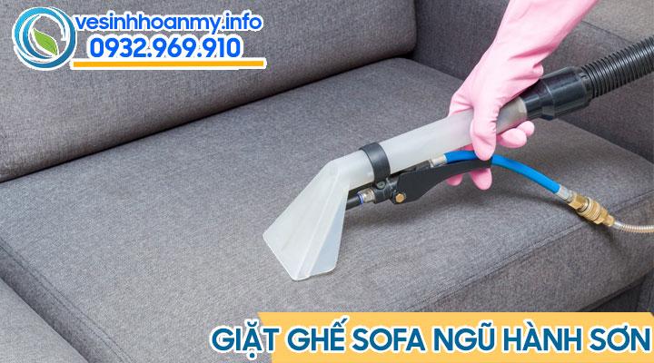 Dịch vụ giặt ghế sofa quận Ngũ Hành Sơn