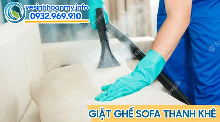 Giặt ghế sofa Thanh Khê Đà Nẵng