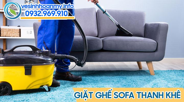 Giặt ghế sofa tại quận Thanh Khê - Đà Nẵng