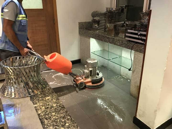 đánh bóng sàn đá granite marble tại Đà Nẵng