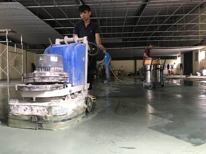 dịch vụ mài đánh bóng sàn bê tông tại Đà Nẵng