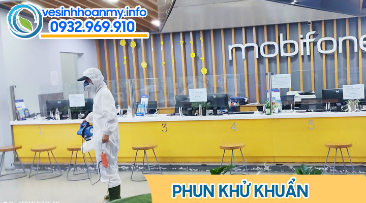 Dịch vụ phun thuốc  Cloramin B tại Đà Nẵng