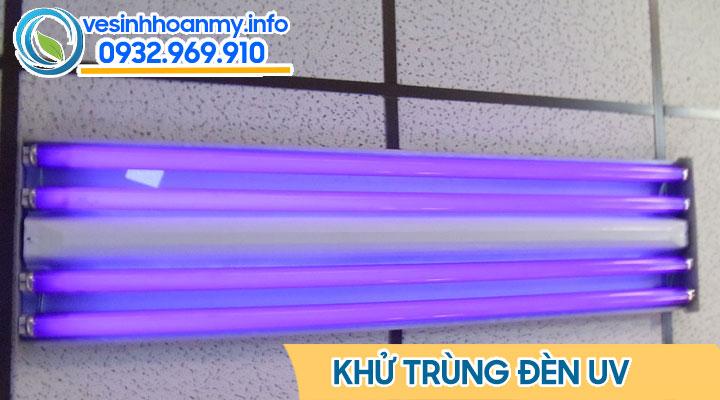 Khử trùng bằng đèn tia cực tím, đèn UV
