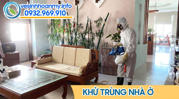 Phun khử trùng nhà ở tại Đà Nẵng