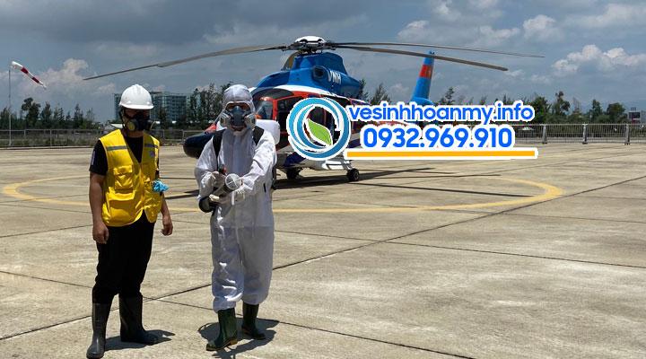 Phun khử trùng diệt khuẩn tại Đà Nẵng