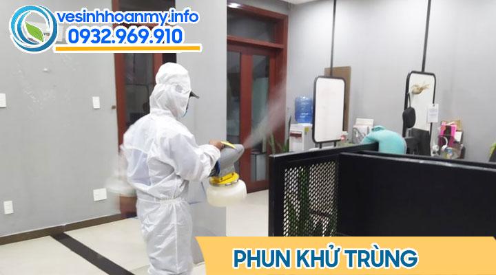 Phun khử trùng văn phòng tại Đà Nẵng