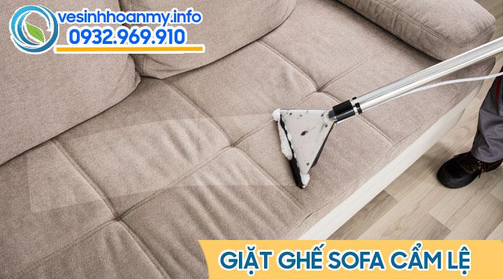 Dịch vụ giặt ghế sofa quận Cẩm Lệ