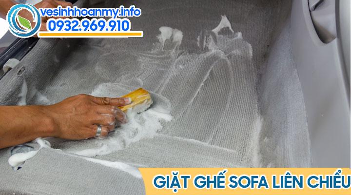 Dịch vụ giặt ghế sofa uy tín quận Liên Chiểu - Đà Nẵng