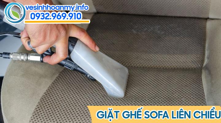 Giặt ghế sofa tại quận Liên Chiểu - Đà Nẵng