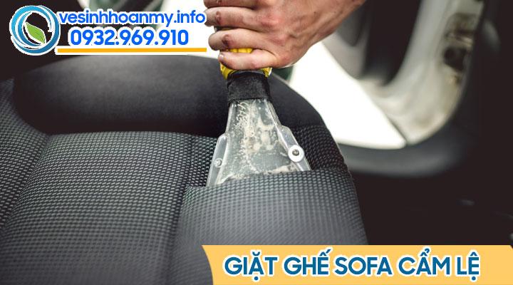 Dịch vụ vệ sinh sofa tại Cẩm Lệ - Đà Nẵng