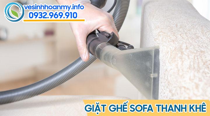 Dịch vụ vệ sinh ghế sofa tại Thanh Khê - Đà Nẵng