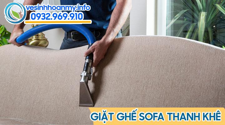 Vệ sinh sofa quận Thanh Khê